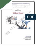 Baldwin Bicycle Case MBA Case Study
