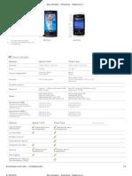 Sony Ericsson - Productos - Teléfonos móviles