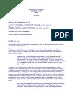 10. Tumalad v. Vicencio G.R. No. L 30173. September 30 1971