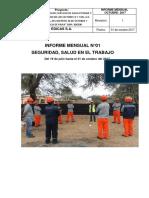 Informe Mensual Octubre 2017 - Piura