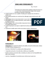 Forging and Forgeability