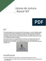 Transistores de Juntura Bipolar BJT