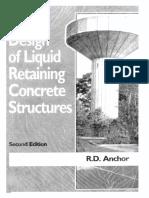 Design of Liquid Retaining Structure R D Angor