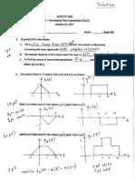 Quiz1 Convolution Solution