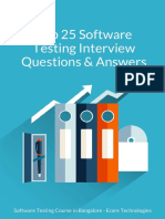 Top 25 Software Testing Interview Questions & Answers