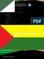 Cantón Santa Rosa Diapositivas