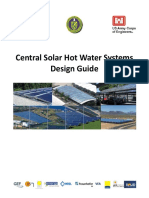 Handbook - Central Solar Hot Water Systems Design Guide