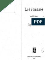 BARROW, R - LOS ROMANOS - Cap 9 - El Cristianismo y El Imperio Romano-red