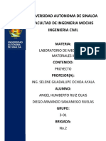 Proyecto Final. Mecanica de Materiales II.