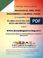 Analog Made Easy - By EasyEngineering.net