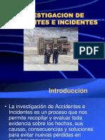 Investigacion de Accidentes Presentacion