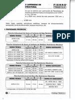 Ficha Tecnica de Planchas y Bobinas Laminadas en Caliente Calidad Estructural Catalogo Tradi 2015-1-1 1