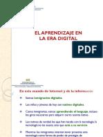 El Aprendizaje en La Era Digital