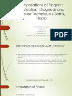 Amputation Finger
