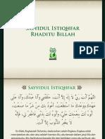 Sayyidul-Istiqhfar