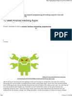 12 Best Android Hacking Apps