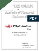 financialanalysisofmahindra-140908070614-phpapp02