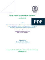 Social Aspect of Bangladeshi Seafarer