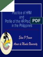 Practice of HRM -Edna Franco
