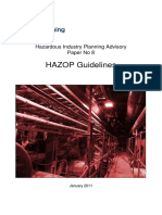 Hazop Requirement