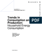Trends in Household Energy Consumption