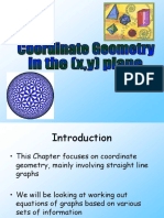 5) C1 Coordinate Geometry in the (x,y) Plane