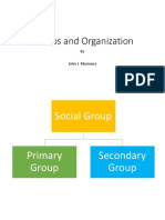 Groups and Organization