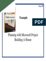 e200 7 Ms Project 2 Buildhouse