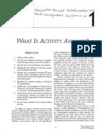 Análisis de actividad