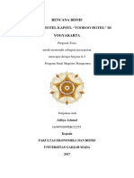 Business Plan Hotel Kapsul
