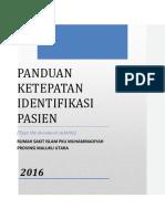 Ketepatan Identifikasi Pasien