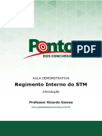 Regimento interno STM