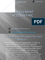 Sample PPT on Management Accounting and It's Analysis