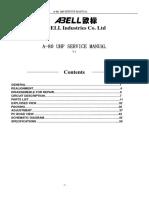 A-80 Uhf Service Manual