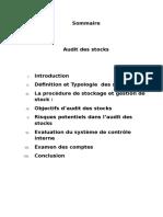 Audit Des Stock