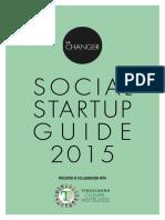 Social Startup Guide 2015