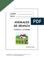 Cuaderno de Actividades_Animales de Granja