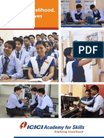ICICI Academy for Skills Placement Brochure