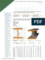 HEB Beams, European Standard Wide Flange H Beams, Dimensions, Specifications