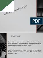 Elektronika Analog
