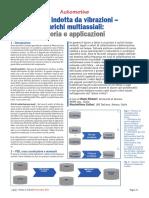Fatica Indotta Da Vibrazioni Carichi Multiassiali Teoria e Applicazioni