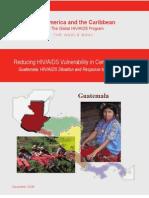 Reducing HIV-AIDS Vulnerability in Central America.