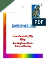 KONSEP BERUBAH