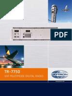 Jotron TR_7750 n 7725 Product Brochure_2009 April