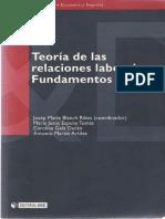 Blanch-Teoria de Las Realciones Laborales