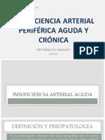 Insuficiencia Arterial Periférica Aguda y Crónica