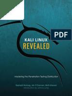 Kali Linux Revealed 1st Edition