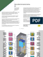 Información Clientes EN81-20 ES