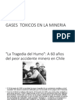 Gases Toxicos en La Mineria