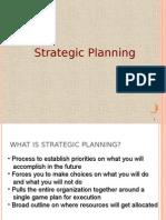 Strategic Planning Model PGDM HR